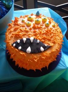 Carlos' personal monster cake