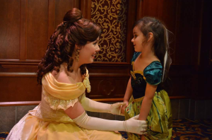 Princess Belle was my favorite. Her personality was so cute.